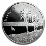 2012 Israel Sea of Galilee Silver 1 NIS PR-69 PCGS DCAM