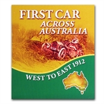 Niue 2012 Colored Proof Silver $1 First Car Across Australia