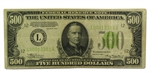 1934 (L-San Francisco) $500 FRN    (Fine-Very Fine)
