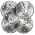 1/2 oz Russian Palladium Ballerina (Random Year)