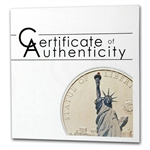 Palau 2011 Silver Proof $5 World of Wonders - Statue of Liberty