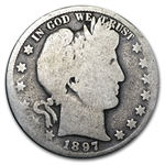 1897-O Good Obverse/Almost Good Reverse Barber Half Dollar