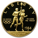 1984-D Olympic - $10 Gold Commemorative - PR-70 DCAM PCGS