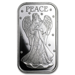 1 oz Peace Angel 2012 Silver Bar (w/Stocking & Capsule)