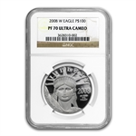 2008-W 1 oz Proof Platinum American Eagle PF-70 NGC