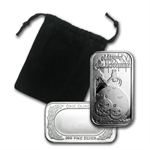 1 oz Happy Halloween Silver Bar (w/Gift Pouch & Cap)