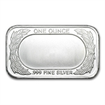 1 oz Happy Thanksgiving Silver Bar (w/Gift Box & Capsule)