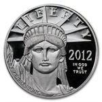 2012-W 1 oz Proof Platinum American Eagle (w/Box & Coa)