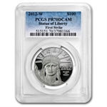 2012-W 1 oz Proof Platinum American Eagle PCGS PR-70 First Strike