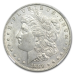 1888-O Morgan Dollar AU-53 NGC VAM-24 Oval O Top-100