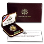 1997-W Franklin D. Roosevelt - $5 Gold Commemorative - Proof