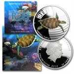 2011-12 1/2 oz Proof Silver Sea Life II Series 5 coin set