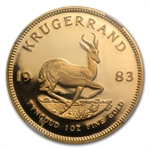 1983 1 oz Gold South African Krugerrand NGC PF-68 UCAM
