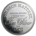 1 oz Johnson Matthey (Sealed-Right to Vote) Silver Round