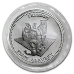 1 oz Johnson Matthey (Sealed-Freedom from Slavery) Silver Round