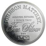 1 oz Johnson Matthey (Sealed-Freedom of the Press) Silver Round