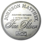 1 oz Johnson Matthey (Sealed-Right to Bear Arms) Silver Round