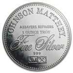 1 oz Johnson Matthey (Sealed-Right to Trial by Jury) Silver Round