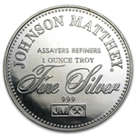 1 oz Johnson Matthey (Sealed-Right to Counsel) Silver Round