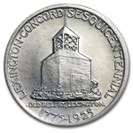1925 Lexington-Concord Sesquicentennial - Almost Uncirculated