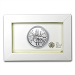 2011 1 oz Silver Britannia - Royal Mint Packaging