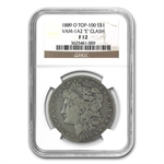 1889-O Morgan Dollar - Fine-12 NGC VAM-1A2 Clashed E - Top-100
