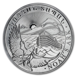 2012 1 oz Silver Armenia 500 Drams Noah's Ark MS-69 (PCGS)
