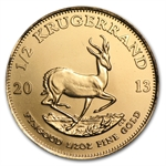 2013 1/2 oz Gold South African Krugerrand