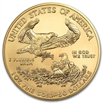 2013 1 oz Gold American Eagle - Brilliant Uncirculated