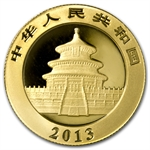 2013 1 oz Gold Chinese Panda (Sealed)