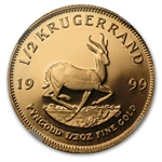 1999 1/2 oz Proof Gold South African Krugerrand NGC PF-69 UCAM