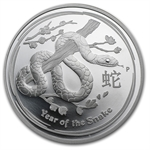2013 Year of the Snake - 1 oz Proof Silver Coin (Series II)