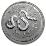 2013 10 Kilo (321.5oz) Silver Australian Year of the Snake