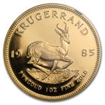 1985 1 oz Proof Gold South African Krugerrand PF69 UCAM NGC