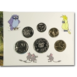 Australian 2012 Baby Set - Dot and the Kangaroo - 6 Unc Coins