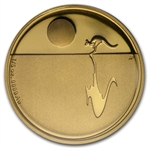 Royal Australian Mint 2012 1/5 oz Gold Proof - Kangaroo at Sunset