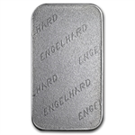 1 oz Engelhard Australia (Tall, 'E' / Frosted) Silver Bar