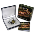 Palau 2010 Silver Proof $2 World of Insects - Grasshopper