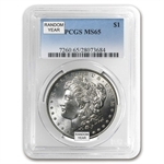 1878-1904 Morgan Dollars - MS-65 PCGS