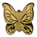 Palau Gold $1 Golden Butterfly Coin (1/2 gram of Pure Gold)