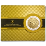 2012 1 oz Gold Canadian Maple Leaf .99999 Fine (W/Assay Card)
