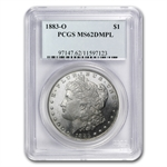 1883-O Morgan Dollar - MS-62 DMPL Deep Mirror Proof Like PCGS