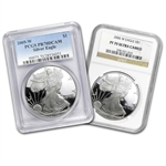 1 oz Proof Silver American Eagle PR-70 PCGS/NGC (Random Year)
