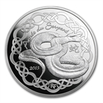 2013 10 Euro Silver Proof Year of the Snake - Lunar Series