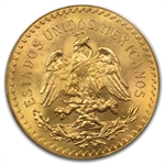 Mexico 1947 50 Peso Gold Coin MS-65 PCGS