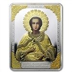 Cook Islands 2012 $5 Russian Icon - St. Panteleimon