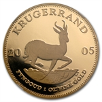 2005 1 oz Gold South African Krugerrand NGC PF-69 UCAM