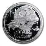 2011 Star Wars 1oz Silver NGC PF-70 UCAM - Death Star