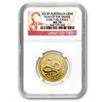 2013 1/2 oz Gold Lunar Year of the Snake (SII) NGC MS-70 (ER)