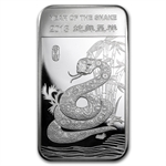 5 oz Year of the Snake Silver Bar .999 Fine